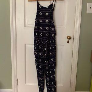 Roxy tie waist jumpsuit